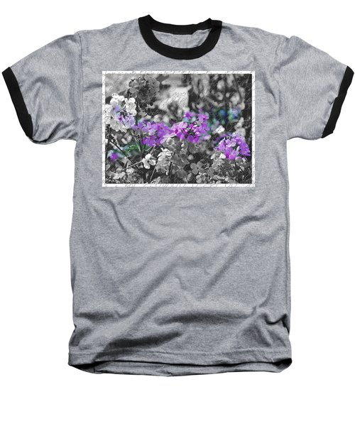 Touch Of Phlox Baseball T-Shirt