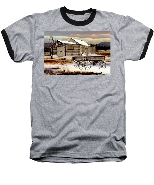 Touch Of Spring Baseball T-Shirt by Ron and Ronda Chambers