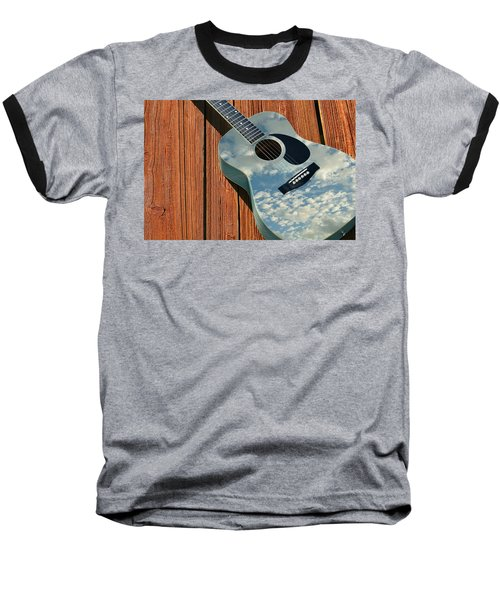 Baseball T-Shirt featuring the photograph Touch The Sky by Laura Fasulo