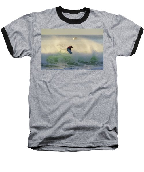 Baseball T-Shirt featuring the photograph Touch The Sun by Thierry Bouriat