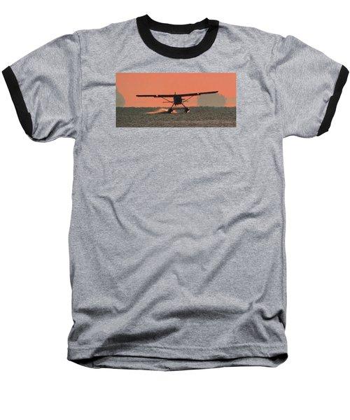 Touchdown Baseball T-Shirt by Mark Alan Perry