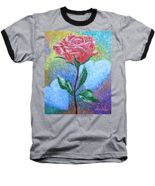 Touched By A Rose Baseball T-Shirt