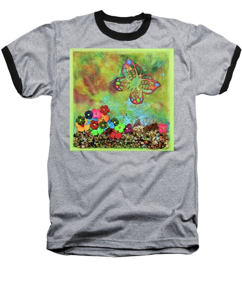Touched By Enchantment Baseball T-Shirt by Donna Blackhall