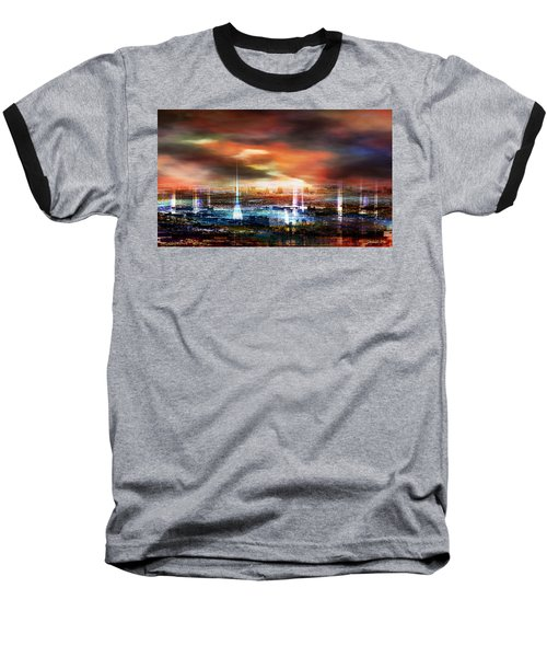 Touch By The Sunset Baseball T-Shirt
