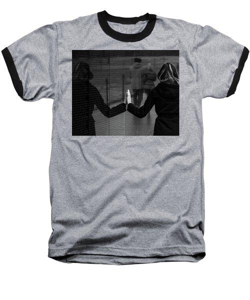 Touching Moment Baseball T-Shirt