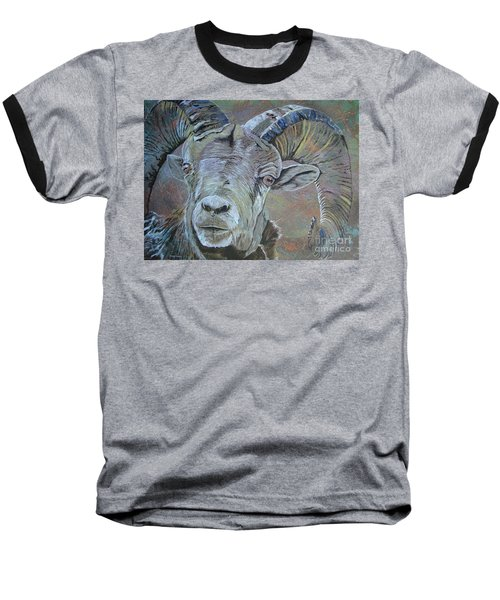 Baseball T-Shirt featuring the painting Tough Beauty by Stuart Engel