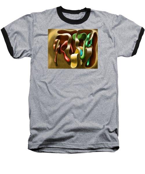 Toungue Wall Baseball T-Shirt