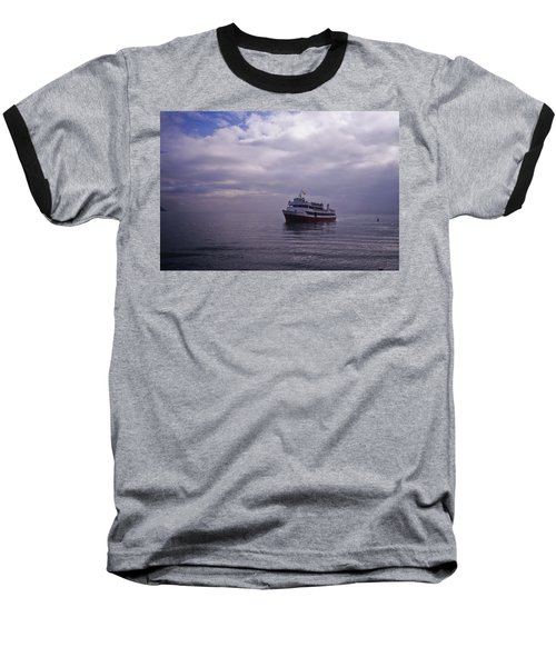 Tour Boat San Francisco Bay Baseball T-Shirt