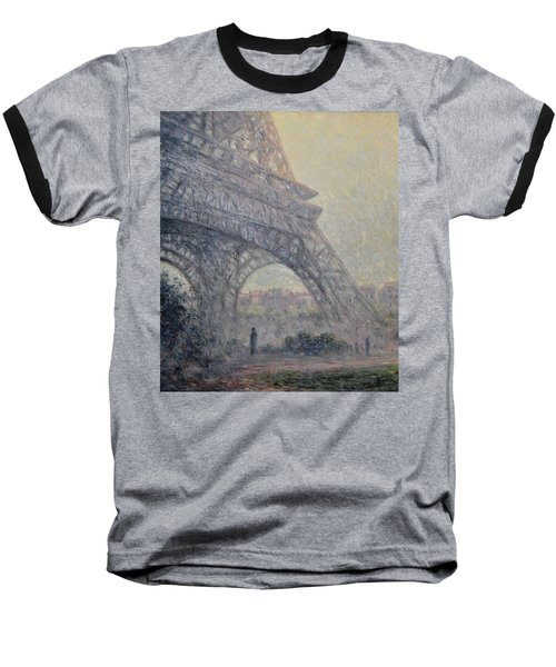 Paris , Tour De Eiffel  Baseball T-Shirt