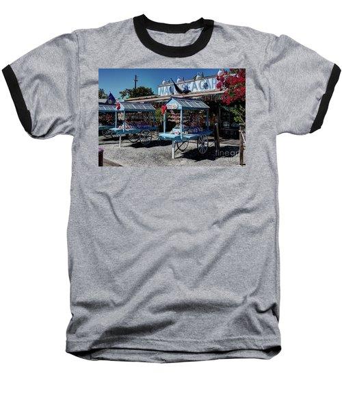 Tourist Souvenir Shell Carts Baseball T-Shirt