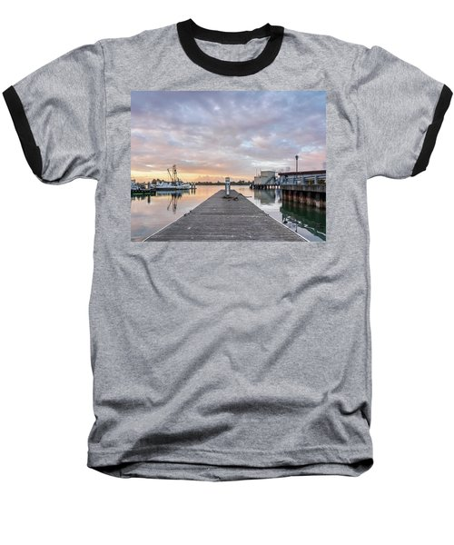 Toward The Dusk Baseball T-Shirt by Greg Nyquist
