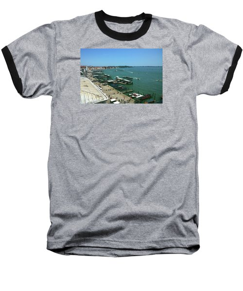 Baseball T-Shirt featuring the photograph Towards Giardino by Anne Kotan
