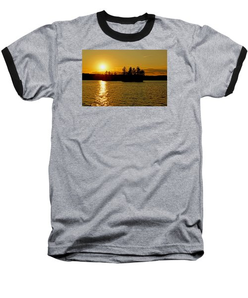 Baseball T-Shirt featuring the photograph Towards Infinity by Lynda Lehmann