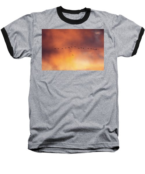 Towards The Sun Baseball T-Shirt