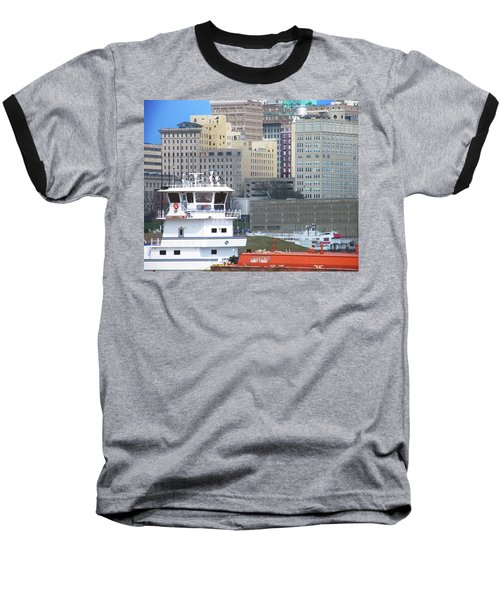 Towboat Robt G Stone At Memphis Tn Baseball T-Shirt