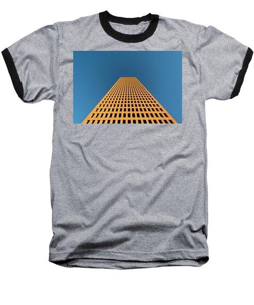 Tower At Sunset Baseball T-Shirt