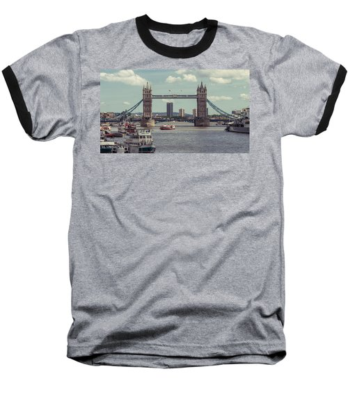Tower Bridge B Baseball T-Shirt