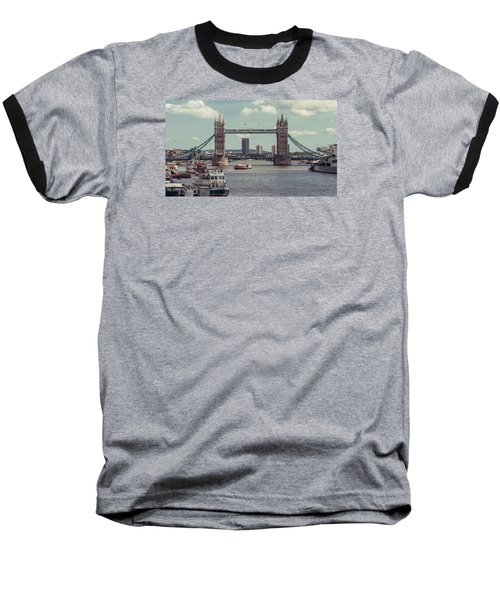 Tower Bridge B Baseball T-Shirt