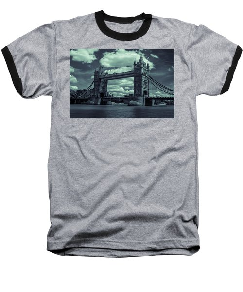 Tower Bridge Bw Baseball T-Shirt