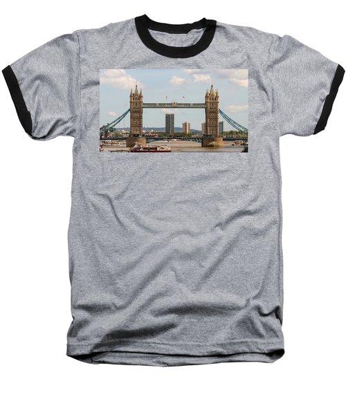 Tower Bridge C Baseball T-Shirt