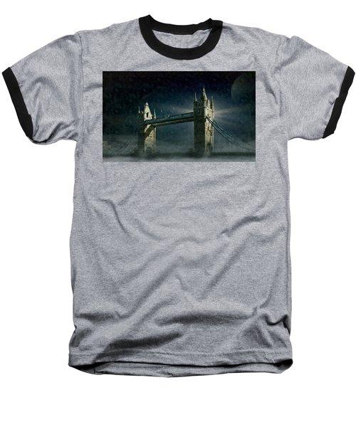 Tower Bridge In Moonlight Baseball T-Shirt