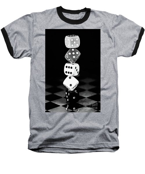 Tower Dice  Baseball T-Shirt