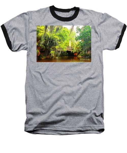 Tower Light Bridge Baseball T-Shirt