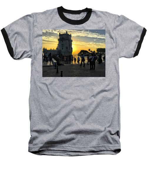 Tower Of Belem Baseball T-Shirt