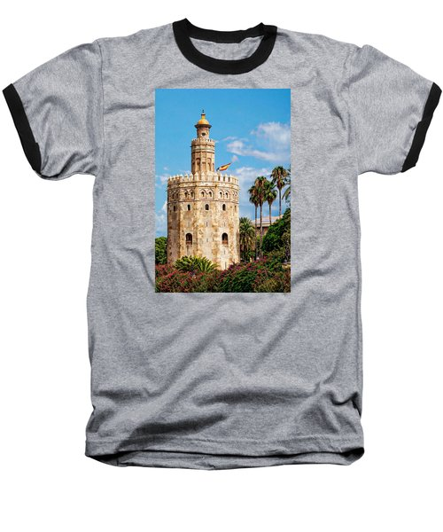 Tower Of Gold Baseball T-Shirt