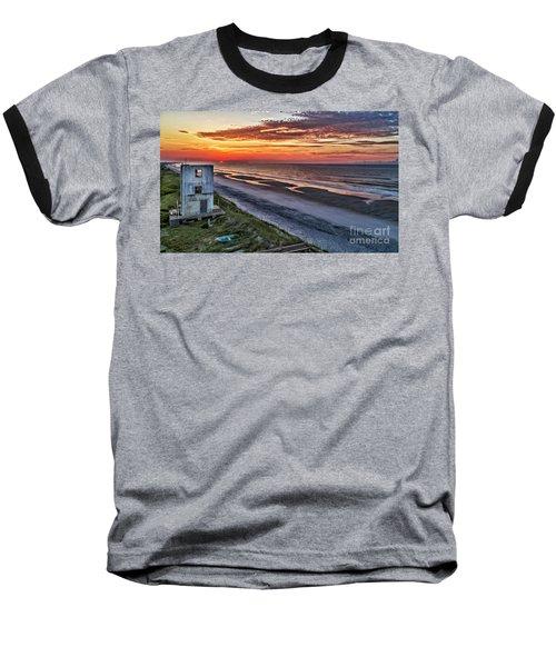 Tower Sunrise Baseball T-Shirt