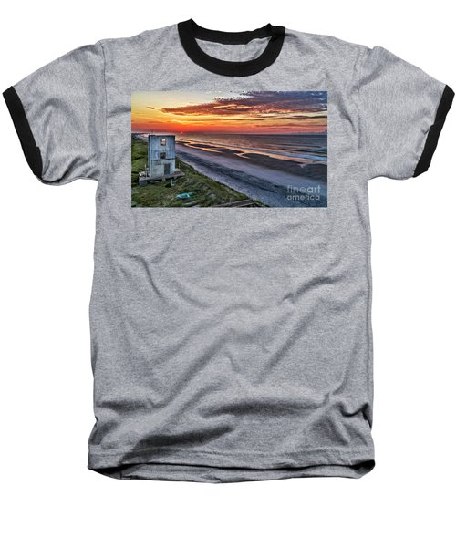 Tower Sunrise Baseball T-Shirt