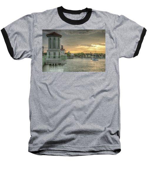 Tower Sunset Baseball T-Shirt