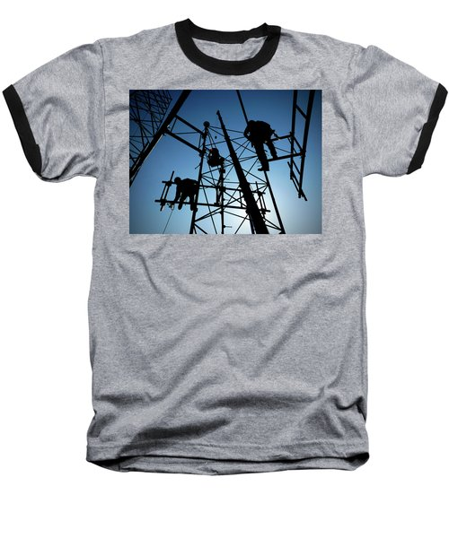 Baseball T-Shirt featuring the photograph Tower Tech by Robert Geary