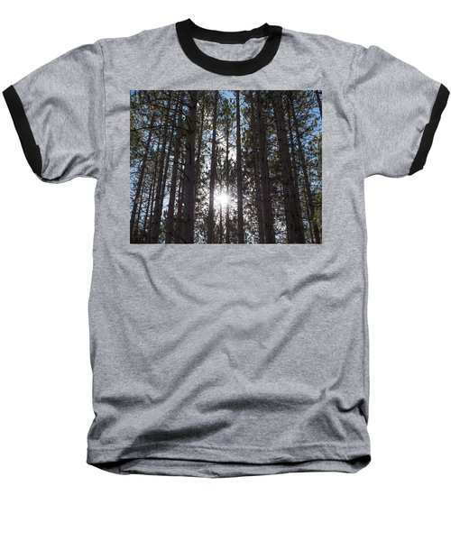 Towering Pines Baseball T-Shirt