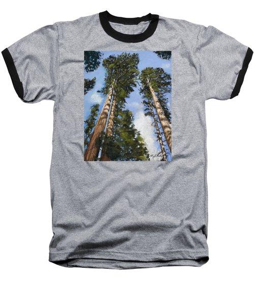 Towering Sequoias Baseball T-Shirt