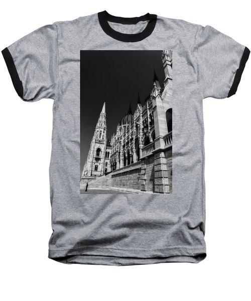 Towering Spires Baseball T-Shirt