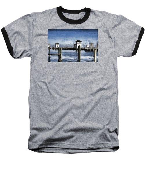 Towers And Masts Baseball T-Shirt by Roberta Byram