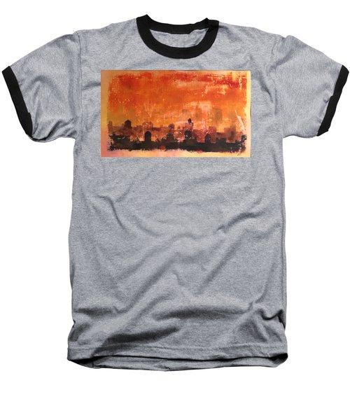Towers And Tanks Baseball T-Shirt