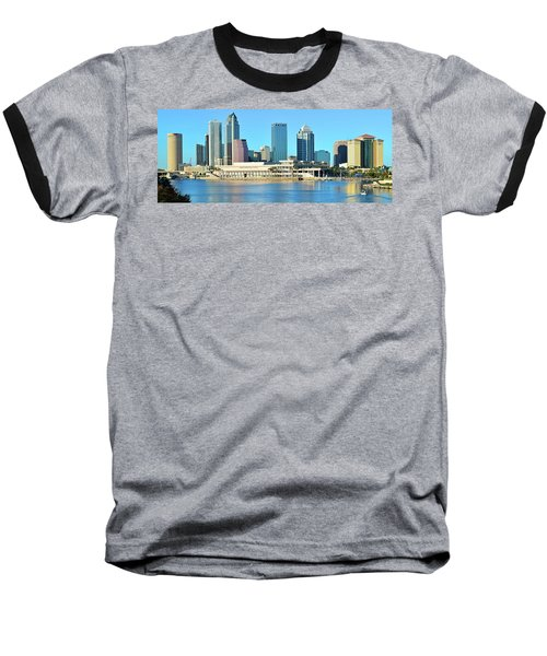 Baseball T-Shirt featuring the photograph Towers By The Bay by Frozen in Time Fine Art Photography