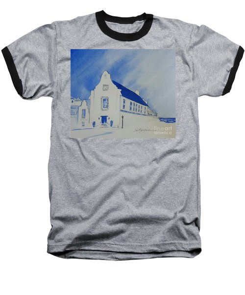 Town Hall, Rosemary Beach Baseball T-Shirt