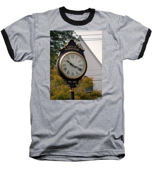 Town Landmark Baseball T-Shirt