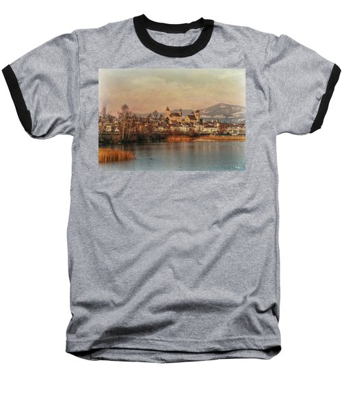 Baseball T-Shirt featuring the photograph Town Of Roses by Hanny Heim