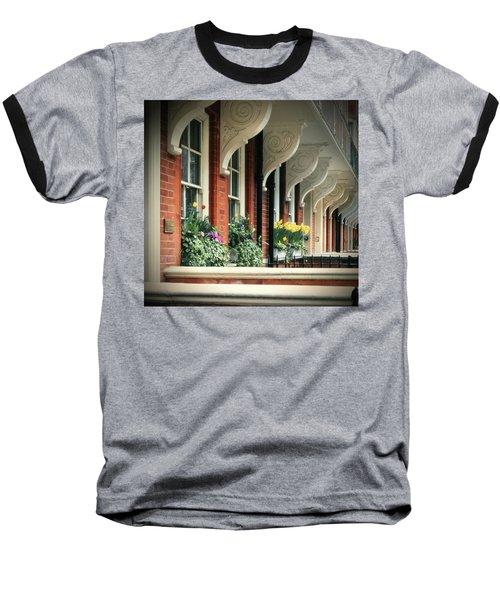 Townhouse Row - London Baseball T-Shirt