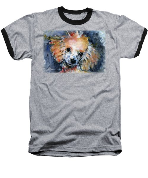 Toy Poodle Shirt Baseball T-Shirt