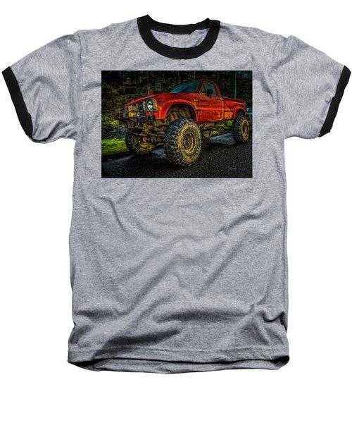 Toyota Grunge Baseball T-Shirt