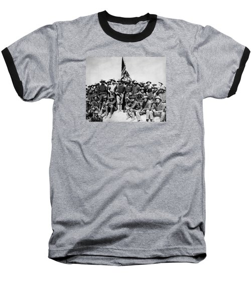Tr And The Rough Riders Baseball T-Shirt