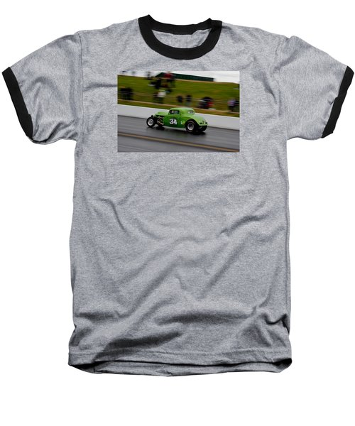 Track Time - Santa Pod Baseball T-Shirt