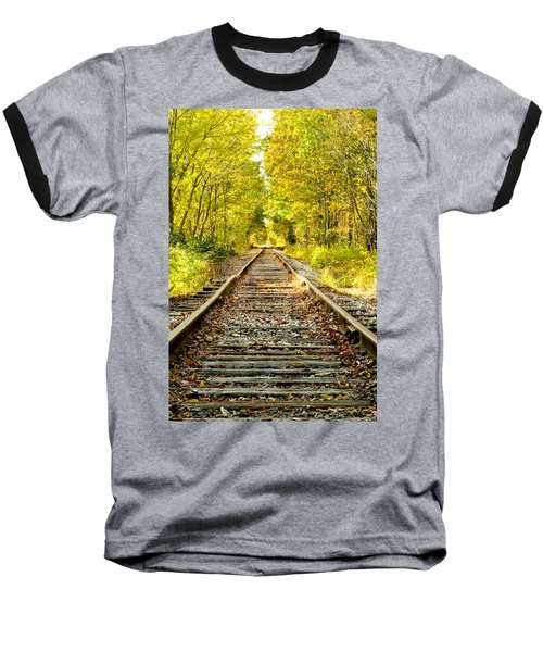 Track To Nowhere Baseball T-Shirt