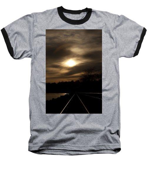 Tracking The Sun Baseball T-Shirt