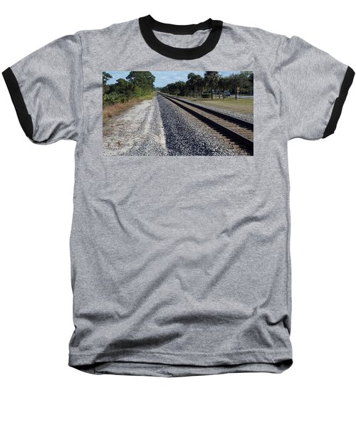 Tracks Hobe Sound, Fl Baseball T-Shirt by John Wartman